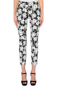 WAREHOUSE Floral print scuba trouser