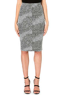 WAREHOUSE Jacquard co-ord skirt