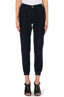 WAREHOUSE Tapered jogging bottoms