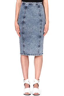 WAREHOUSE Stretch-jersey pencil skirt