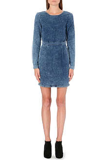 WAREHOUSE Acid wash cotton dress