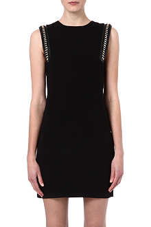 WAREHOUSE Chain shoulder shift dress