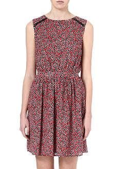 WAREHOUSE Printed skater dress