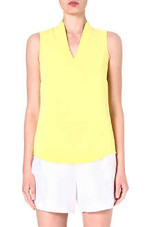 WAREHOUSE V-neck sleeveless top