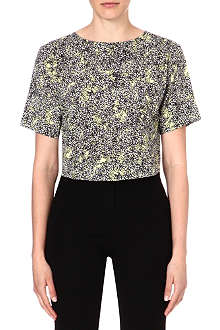 WAREHOUSE Blossom print t-shirt