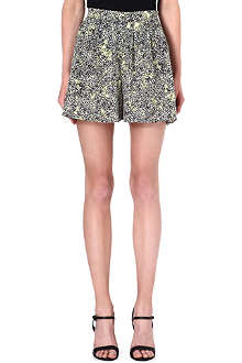 WAREHOUSE Blossom print shorts