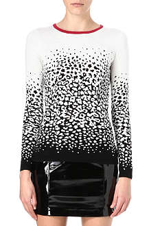 WAREHOUSE Leopard jumper