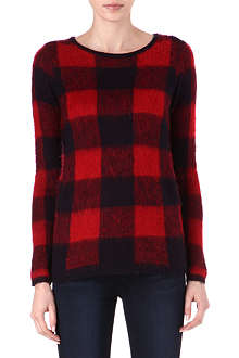 WAREHOUSE Checked jumper