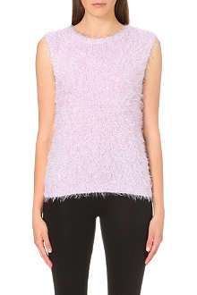 WAREHOUSE Super fluffy tank top
