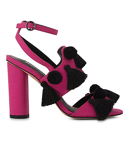 TOPSHOP Rave heeled sandals (Pink