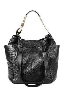 JIMMY CHOO Anna soft calf leather bag