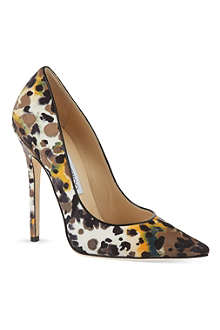 JIMMY CHOO Anouk printed stiletto pumps