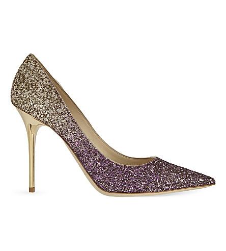 Abel 100 glitter heeled courts