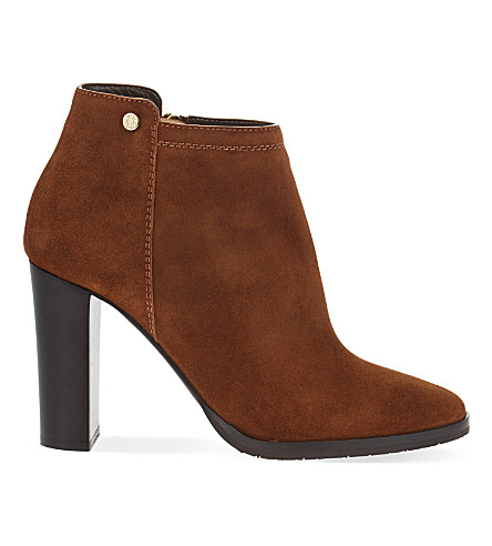 JIMMY CHOO Hart 95 suede ankle boots (Canyon