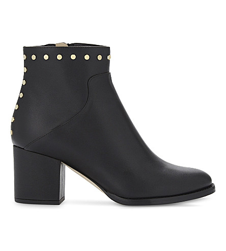 JIMMY CHOO Melvin 65 leather heeled ankle boots (Black
