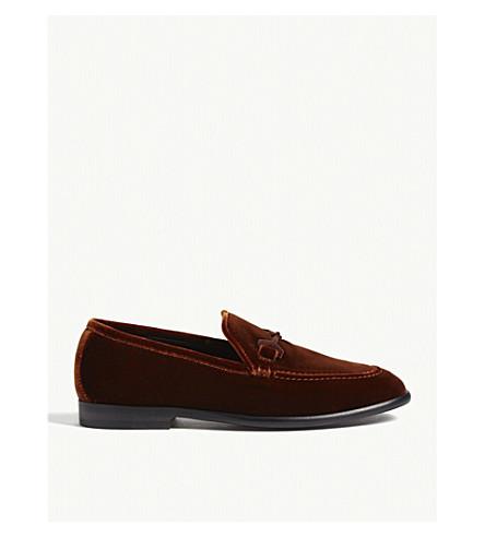 JIMMY CHOO Marti velvet loafers (Oxid