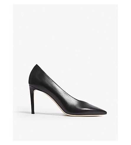 5f4169b87199 ... JIMMY CHOO Sophia 85 leather heeled pumps (Black. PreviousNext