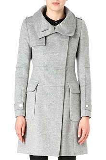 KAREN MILLEN Tailored wool coat