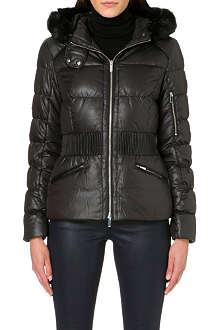 KAREN MILLEN Signature padded jacket