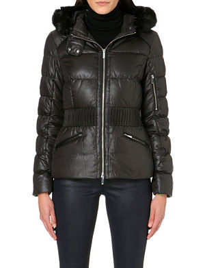 KAREN MILLEN Signature padded jacket