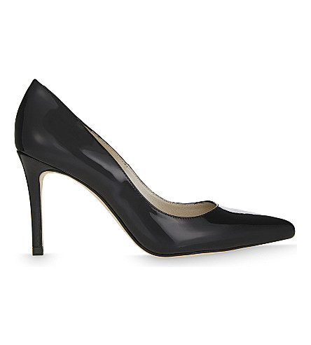 KAREN MILLEN Patent leather courts (Black