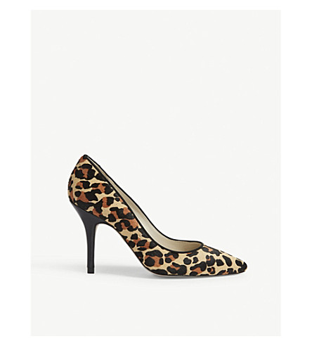 KAREN MILLEN FC002 leopard-print courts (Multi-coloured