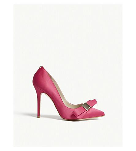 KAREN MILLEN Satin bow courts (Pink