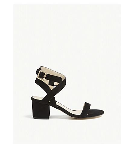 KAREN MILLEN FC105 suede sandals (Black