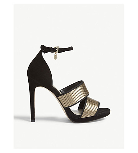 KAREN MILLEN Karen Millen sandals Black Low Cost Discount Huge Surprise Discount Genuine rR2SikpH