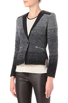 KAREN MILLEN Ombre tweed jacket