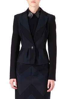 KAREN MILLEN Striped suit jacket