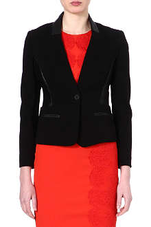KAREN MILLEN Tailored collarless jacket