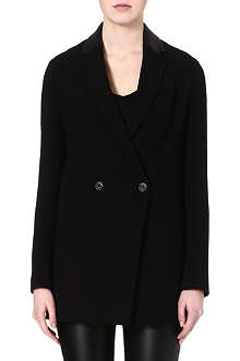 KAREN MILLEN Double-breasted boyfriend blazer