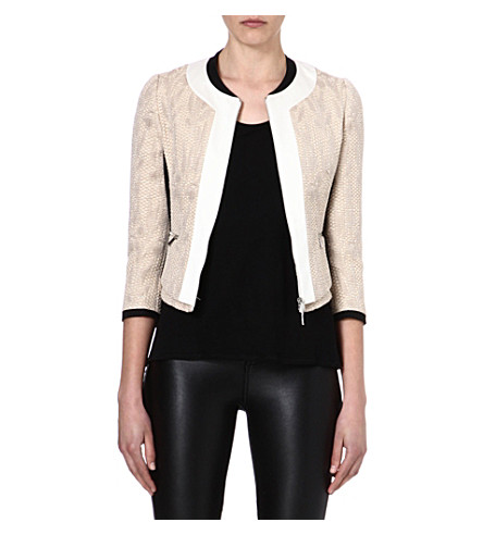KAREN MILLEN Tweed jacket (Neutral