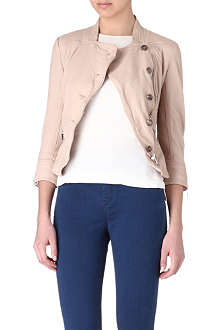 KAREN MILLEN Coloured leather jacket