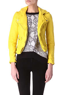 KAREN MILLEN Limited edition leather jacket