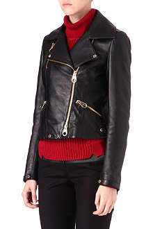 KAREN MILLEN Leather biker jacket