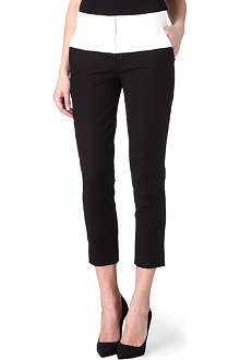 KAREN MILLEN Colourblock trousers