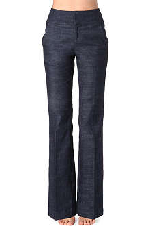 KAREN MILLEN Tailored denim trousers