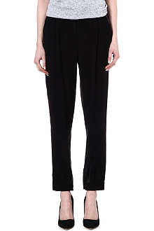 KAREN MILLEN Tailored cuffed trousers