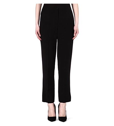KAREN MILLEN Tailored wide-leg trousers (Black