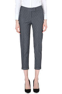 KAREN MILLEN Tailored jacquard trouser