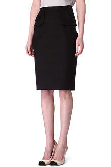 KAREN MILLEN Peplum pencil skirt