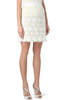 KAREN MILLEN Lace pencil skirt
