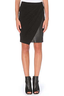 KAREN MILLEN Drape pencil skirt