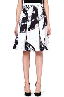 KAREN MILLEN Printed full skirt