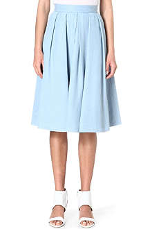 KAREN MILLEN Denim midi skirt
