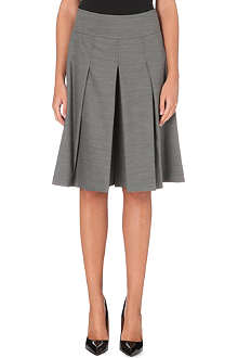 KAREN MILLEN Tailored wool-blend culottes