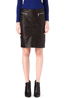 KAREN MILLEN Leather skirt