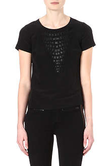 KAREN MILLEN Animal applique top